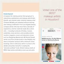 makeup schools in houston professional makeup artist houston kristin daniell