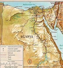Egypt Africa Map by Prehistoric Calendar Circle Of Nabta Playa Astronomy Egypt