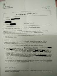 how to refuse an invitation uk visa refused unable to prove genuine relationship with
