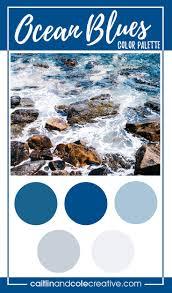 blue color palette color palette ocean blues u2014 caitlin u0026 cole creative llc
