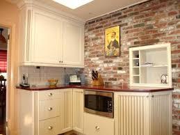 faux brick kitchen backsplash faux brick backsplash in kitchen awesome brick in kitchen in