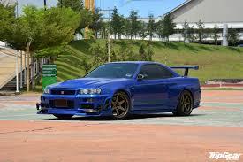 jdm nissan skyline r34 topgear malaysia garage nissan skyline gt r v spec ii