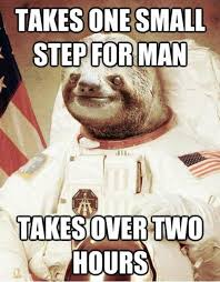 Sloth Meme Jokes - image 437649 astronaut sloth know your meme