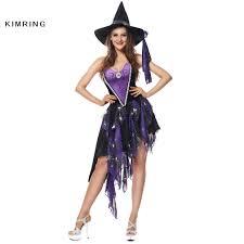 kimring witch halloween costume gothic vampire cosplay magic