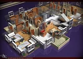 decoration lanscaping architecture apartments cool floor plan
