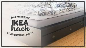 ikea bed make over hack styling project on a budget my bedroom