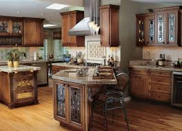 Antique Style Kitchen Cabinets Antique Dark Wooden Custom Build Kitchen Cabinet In Medieval Style
