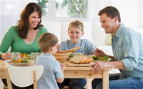 Dining Table With Food Is At The Traditional Dining Table Becoming Obsolete
