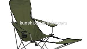 folding chair cool reclining folding chair with footrest with