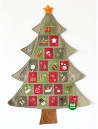 new hanging advent calendar countdown fabric felt