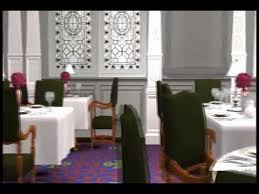Titanic First Class Dining Room The Sims 2 Titanic First Class Dining Saloon Youtube