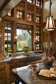 Interior Home Design Kitchen Best 25 Cabin Kitchens Ideas On Pinterest Log Cabin Kitchens