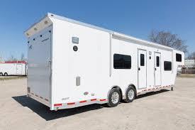 Cargo Trailer With Bathroom Quest Premium Living Quarter Modules Atc Trailers