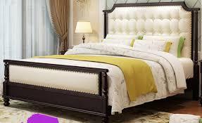 letto a legno massello letto in legno massello stile americano in legno massello letto