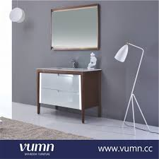 Slimline Bathroom Cabinets With Mirrors by Showpiers White High Gloss Bathroom Cabinet Freestanding Unit