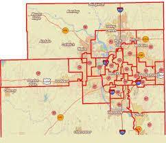 Dallas City Council District Map by Civic Affairs In Wichita Kansas Politics
