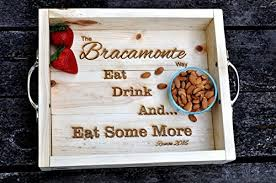 engraved serving trays best 17 personalized serving trays