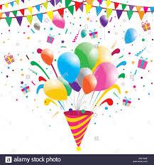 party confetti party confetti celebration background vector illustration