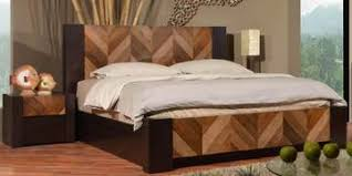 Bed Images Kosmo Imperial Queen Pull Out Storage Bed In Natural Wenge Color