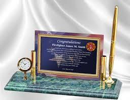 academy graduation gift firefighter gift ideas fireman school graduation academy clock