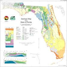 Florida Map Image by Florida Geology Enchanted Forest Nature Sanctuary Titusville