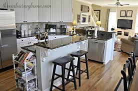 a recipe for adding storage to your kitchen island in add