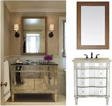 bathroom vanity mirror with marvelous mirrored bathroom vanity