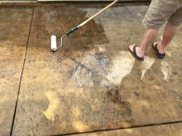 Best Sealer For Stamped Concrete Patio by Concrete Stain And Sealer Patio Makeover Cheng Concrete Exchange