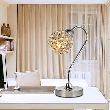 Small Table Lamp With Crystals Online Get Cheap Crystal Balls Table Lamp Aliexpress Com