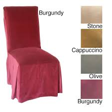 Dining Room Chair Cover Ideas Parson Chair Slipcover Sure Fit Duck Dining Room Chair Slipcover