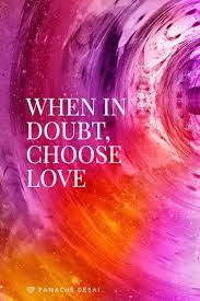 love is a powerful force that will guide you closer to clarity and