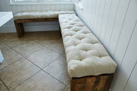 Tufted Banquette Bench Outstanding Banquette Seat Cushion 88 Diy Banquette Seating