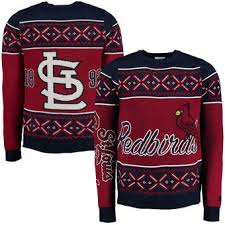 st louis cardinals ugly sweaters st louis cardinals ugly