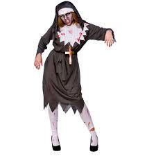 Halloween Costumes Ebay Zombie Costume Satanic Sister Act Halloween Fancy Dress
