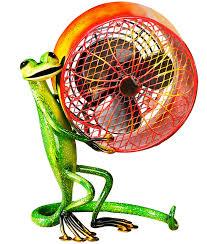 decorative fans beat the heat with decobreeze decorative fans jcpenney