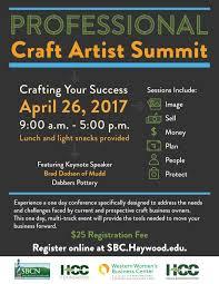 professional craft artist summit haywood community college