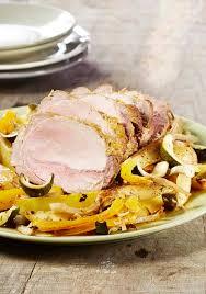 cuisiner un roti de porc au four rôti de porc à la moutarde et légumes au four colruyt