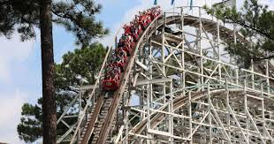 Six Flags Acrophobia Six Flags Over Georgia To Retire Iconic Wooden Roller Coaster