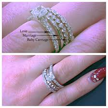 baby engagement rings images First comes love then comes marriage then comes the baby in the jpg