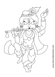 easy painting of lord krishna for kids how to draw lord little