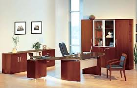 Office Desk With Cabinets L Desk Office Furniture Corner L Shaped Desk With Hutch Black And