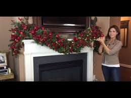 how to create a spectacular garland for your mantel