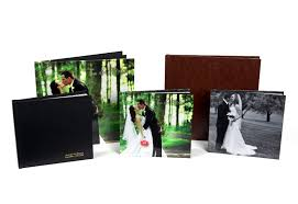 Leather Photo Albums Engraved Custom Made Wedding Albums Personalized Wedding Photo Books
