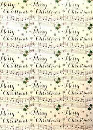 themed wrapping paper sheets of themed christmas wrapping paper musical gifts online