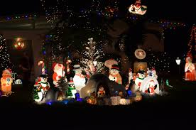 sarasota lights the home on 2834 browning st filled the lawn with