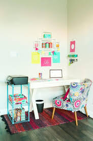 pop of color home office ideas play plan