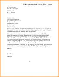 sample internship resume cover letter cover letter for marketing