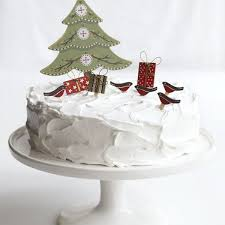 Christmas Cake Decorations Images by 20 Christmas Cake Decorations Wallpapers