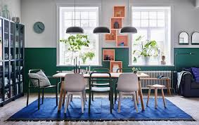 dining room furniture ideas ikea mix and match the stackable ypperlig chair in green with the ypperlig stool in beech and