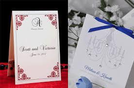 Bi Fold Wedding Program Indian Wedding Invitation Trends